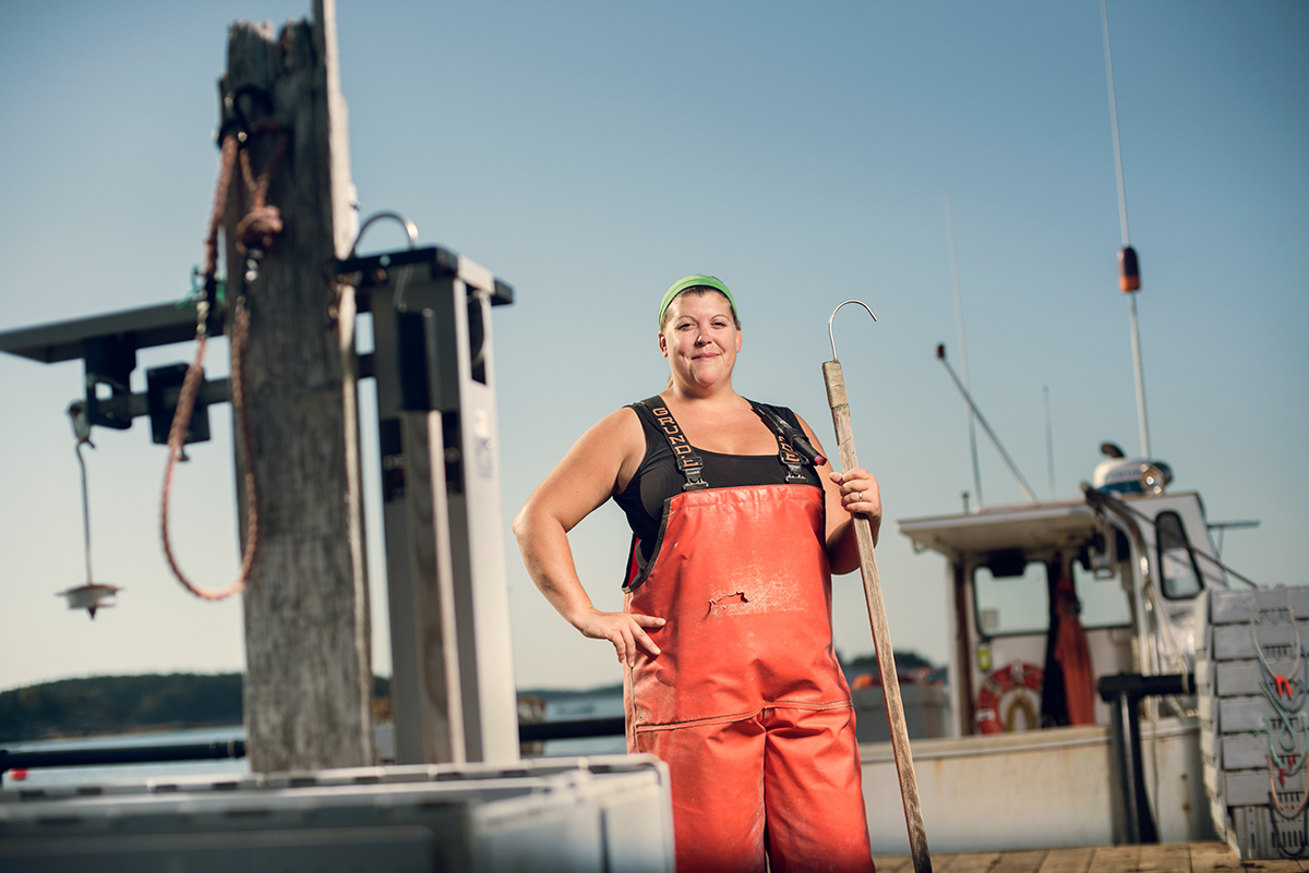 Female Lobsterman